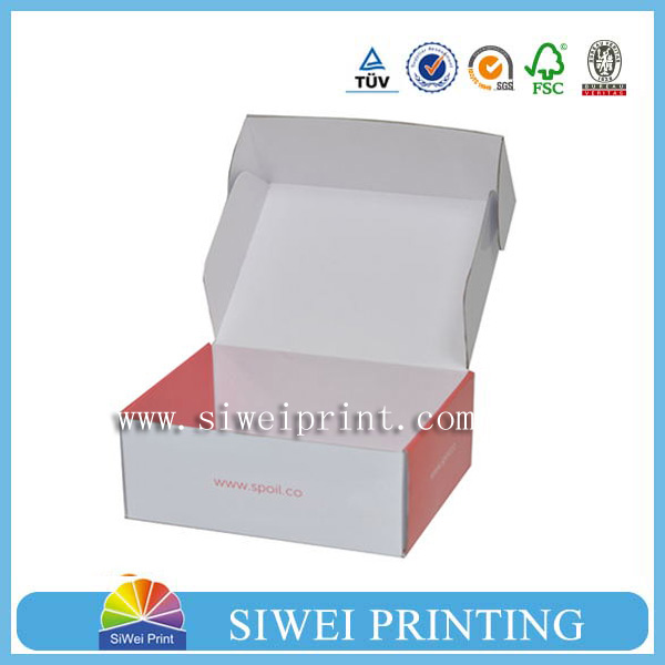 wholesale custom shipping box for cosmetics ,food packaging box,gift in packaging boxes
