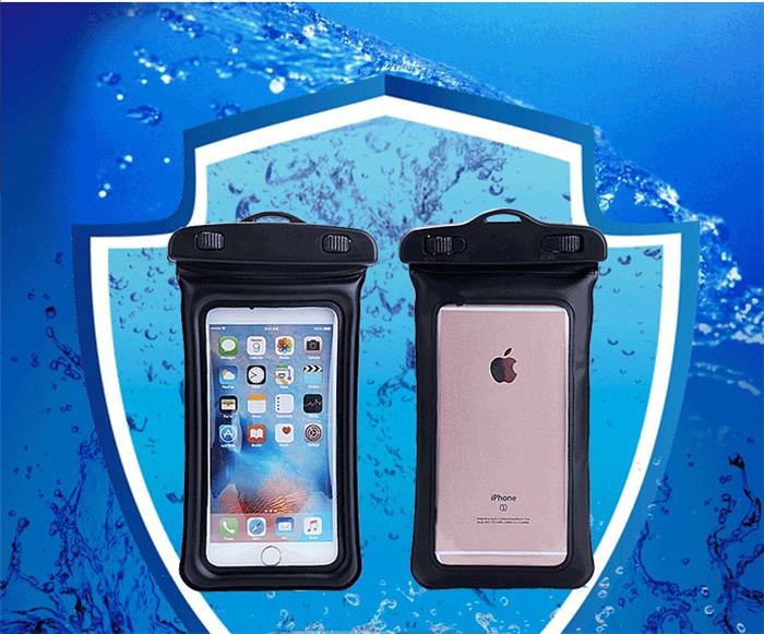 5.8 Capa Para Waterproof Pouch Bubble Float Bag Under Water Proof Phone Case Cover for iPhone SE 5s 6S plus for OPPO a37 Neo 7