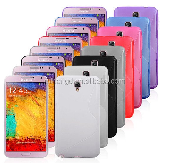 S Line Matte Soft TPU Case For Samsung Galaxy Note 3 N9000/Note 2 N7100