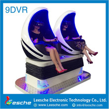 2017 Egypt hot sale newest 9D VR headset pc 5d cinema electric platform 3 seats 9d vr egg cinema