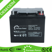 most popular sealed maintenance free lead acid 24V 36v 48V 38ah battery