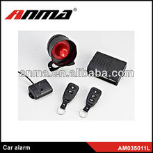 2013 ANMA brand one way car alarm system car alarms