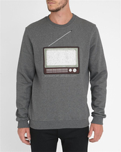 Custom Mens Plain Grey 100 Cotton Fleece Printed Sweatshirt Without Hood