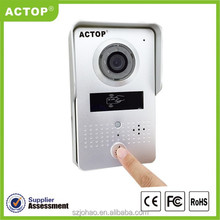 Shenzhen ACTOP 2015 New design Android IOS Smartphone APP Remote Controlling Wireless WIFI Video Door Phone