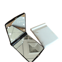 Custom size cut small glass mirror pieces