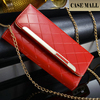 2015 new arrival cell phone PU Lady wallet case for iphone 6plus