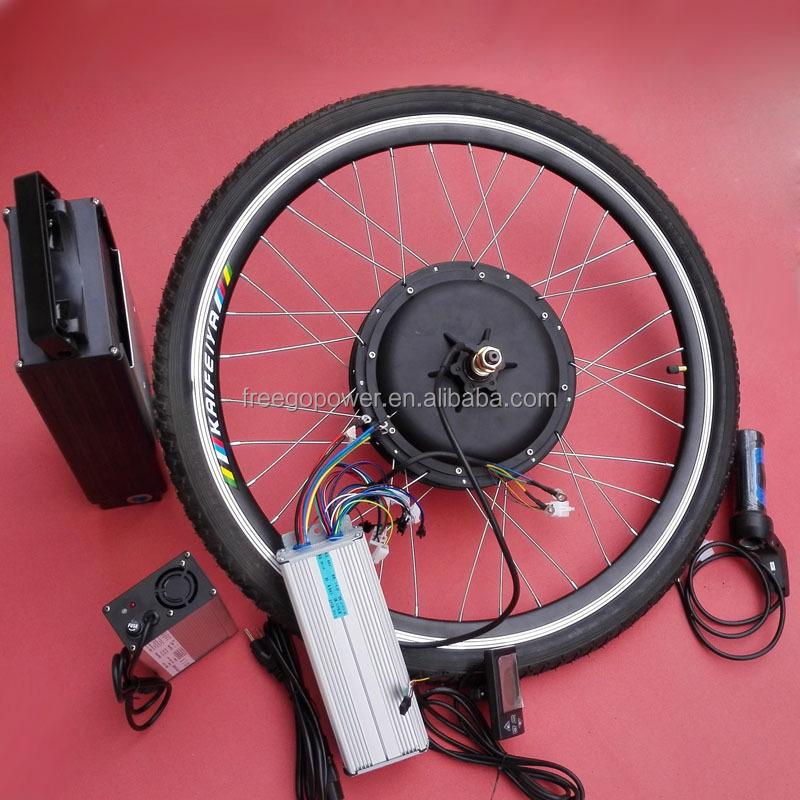 Electric Bike Motor Kit Price: 48v 1500w Lithium Ion Electric Bike Kit Hub Motor Kit With