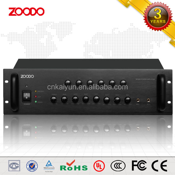 SE-6500 500W 6-Zone Volume-adjustable Audio Power Amplifier