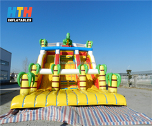 Beautiful coconut palm tree inflatable adult bounce house