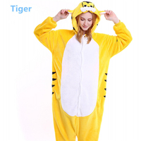 Tiger Cartoon Cosplay Onesie Pajamas, Full Body Animal Pajamas