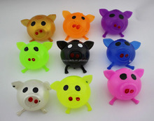 Hot Selling High Quality Colorful Pig Smash Water Ball