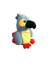 Voice recordable plush talking repeating parrot toy