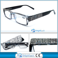 2014 popular design half lens reading glasses