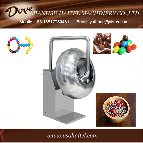 Professional Candy Glazing and Cashew Sugar Nut Honey Coating Machine