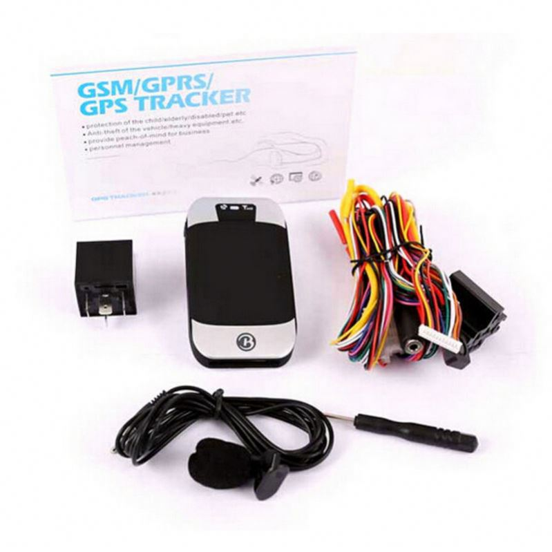 Quad band GPS vehicle tracker GPS303G with remote control,Listen in Base +GPS tk303g dual-positioning, monitoring