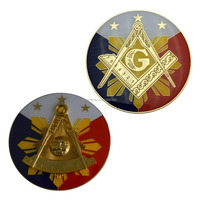 FreeMason Auto Emblems Car Logo Wholesale 3D Car Emblem