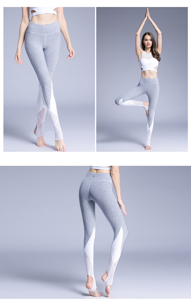 High Quality Custom Dry Fit Gym Fitness Leggings Spandex Yoga Pants Women