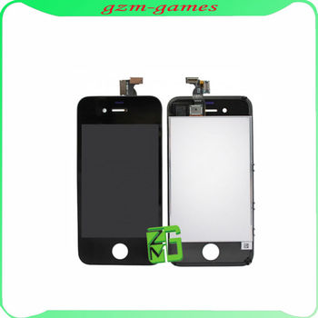 mobile phone LCD for Iphone 4 LCD Digitizer Screen Black
