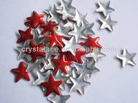 Star shape Korean iron on nailhead for nail art rhinestone nailhead
