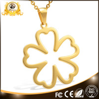 High quality best sell flower pendant blank charm jewelry