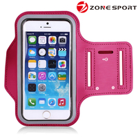 New Product Running neoprene sport armband case for mobile phone,waterproof armband for iphone 6 case