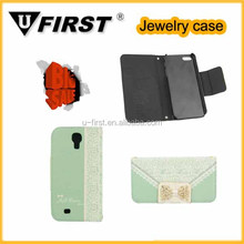 New desgib flip PU leather for mobile phone case