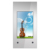 Half outdoor vertical landscape wall mount lcd screen interactive advertising media player touch screen kiosk