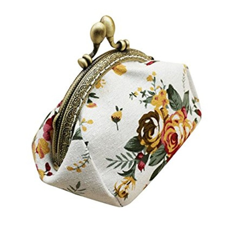 Ladies Decorative Purses Car Key Wallet Clutch Coin Bags for Women