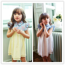 Hot selling birthday dress 1 year old girl with low price 13808
