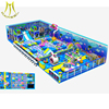 Hansel children playground flooring kids indoor play equipment slides indoor playground for home
