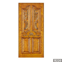 Dippsi modern design high quality interior swing solid wood door