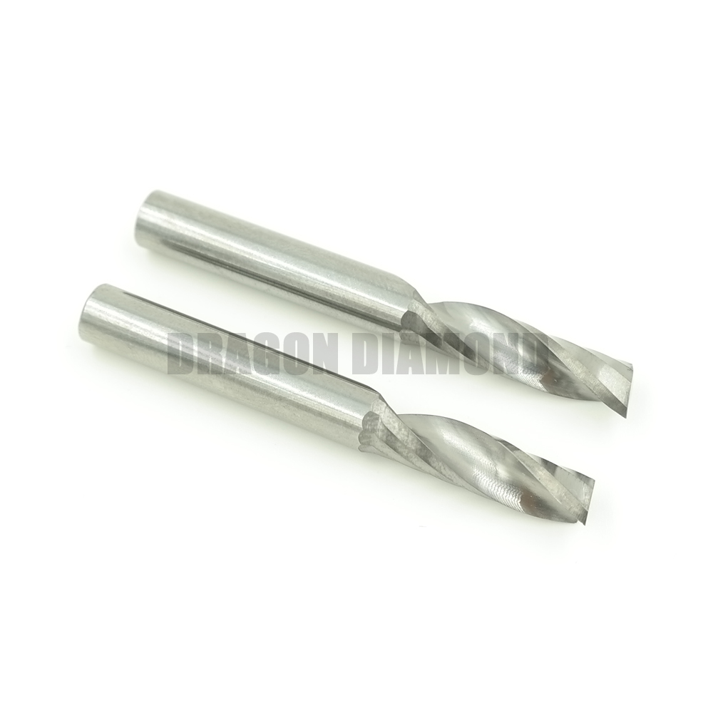 One flute end mill 6mmx15mm one flute spiral bits,cnc milling cutters 6mm one flute end mill