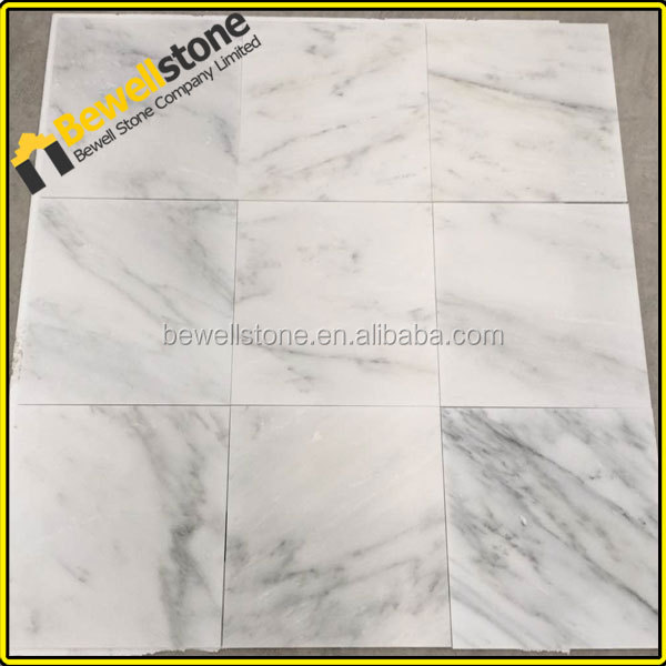 Import egyptian white honed marble for office wall & floor tiles designs