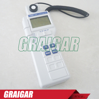 TASI-630 Digital Light Meter Luxmeter LCD Backlight PEAK-HOLD 50mS pulse light and DATA-HOLD features