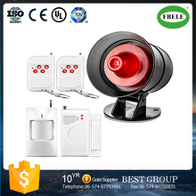 FBS-085 home alarm, wireless audio and video and alarm system on site, doors and windows security system (FBELE)