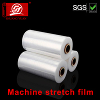 unique slim machine PE film transparent Plastic stretch film