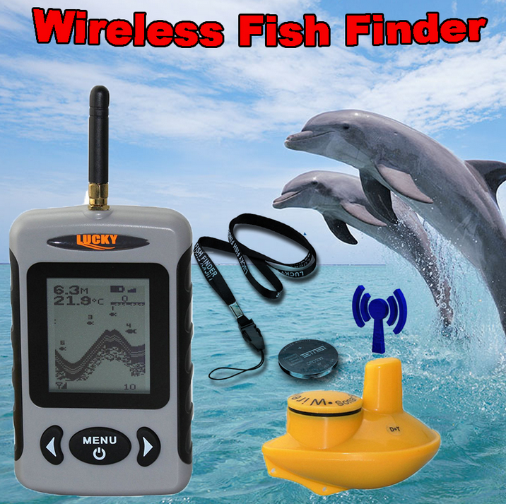 fish finder ffw718 lucky эхолот