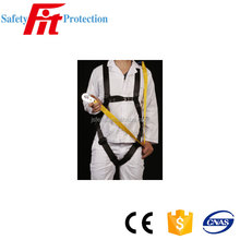 Full body harness with Single lanyard and Shock Absorber