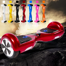 two wheel balance scooter with bluetooth speaker 6.5 Inch LG battery EU plug plum round wheel Ancheer AM002728