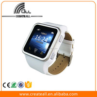 2015 Cheap Fashion Waterproof GSM Smart watch mobile phone