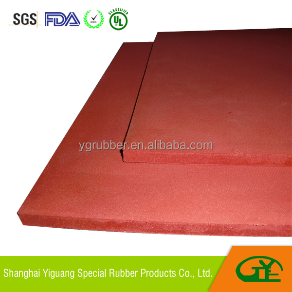 silicone foam rubber sheet for heat press
