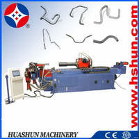 HS-SB-89CNC excellent quality useful downspout metal tube bending machine