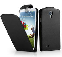 100% perfect for galaxy S4 leather case for Samsung Galaxy S4 i9500