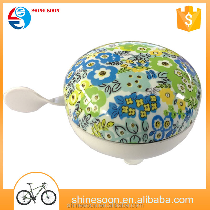Fancy 80mm Bicycle Bell Bike Classic Big bell Ding Dong Big Bell Design For Bike