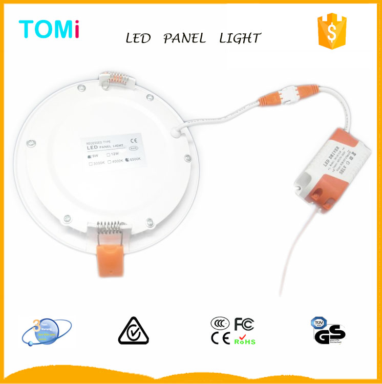 Hot selling 6W+3W Double Color LED Panel light china new innovative product
