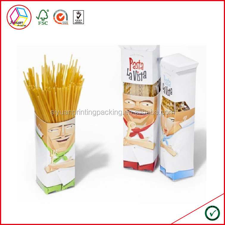 High Quality Pasta Box Packaging