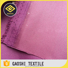 China Factory OEM Service Pu Coated 600D Polyester Waterproof Oxford Fabric For Car Toolbag