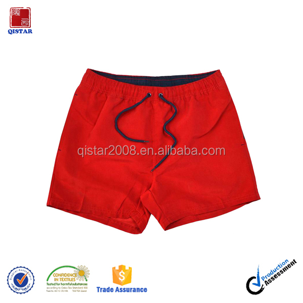 Red Color Short Hot Shorts Men Boardshorts/ Men Sexy Swim Trunks