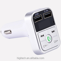 T39 Car bluetooth MP3 Player Car FM Modulator Transmitter with mic