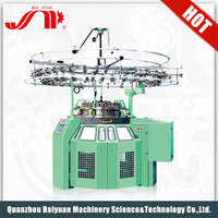 Baiyuan Commercial Professional Single Jersey Orizio Computerized Sock Glove Circular Knitting Machine Price For Sale